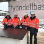 LyondellBasell nimmt Logistikerweiterung in Betrieb – Grundstein für neues Verwaltungsgebäude gelegt