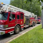 Morris Plant Responds to Local Battery Fire